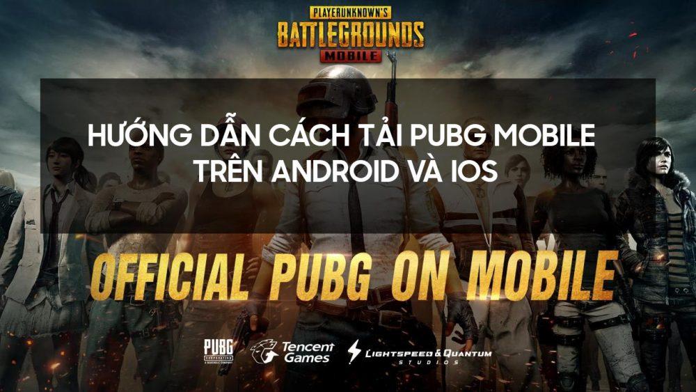 Cách tải PUBG Mobile